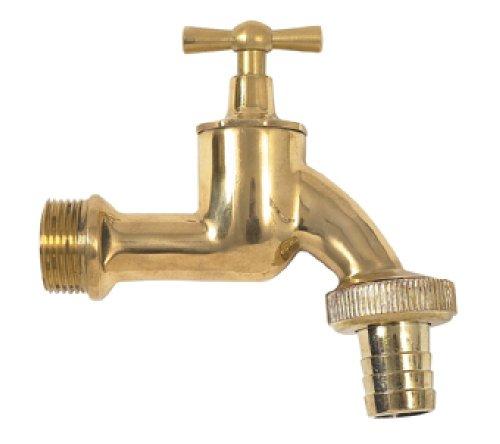 Garantia Wasserhahn für Regentonnen (Auslaufhahn aus Messing 19 mm 3/4