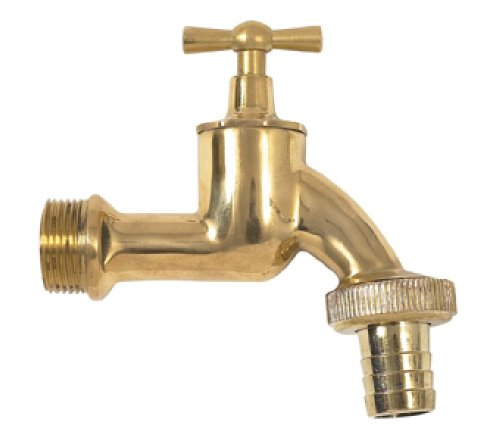 Garantia Auslaufhahn Messing (Wasserhahn), 19 mm (3/4