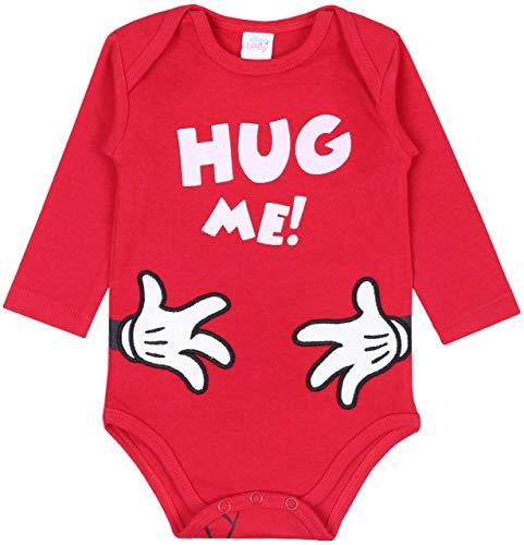 -:- Minnie Mouse -:- Disney -:- Body bébé Rouge 6 Mois