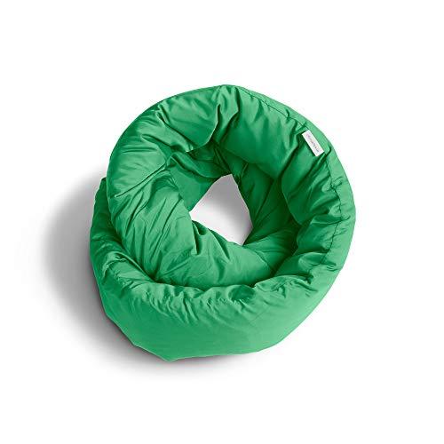 Huzi Infinity Pillow - Design Power Nap Pillow, Travel and Neck Pillow...