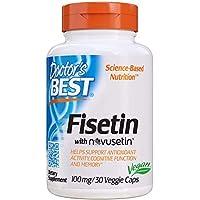 30-Count Doctor's Best Fisetin With Novusetin 100 mg Veggie Caps