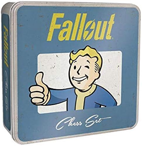 Horror-Shop Fallout Collectors Set Schachspiel für Fans & Sammler