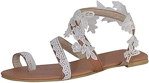 Zapatillas De Estar Por Casa De Lino2021 Sandalias De Mujer Sweet Chic...
