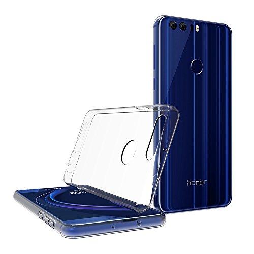 AICEK Huawei Honor 8 Hülle, Transparent Silikon Schutzhülle für Honor 8 Case Crystal Clear Durchsichtige TPU Bumper Huawei Honor 8 Handyhülle - 4