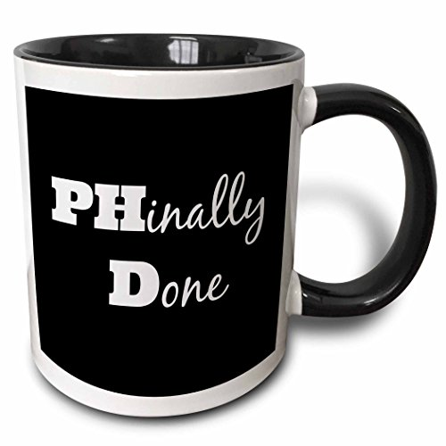 This mug is such a cute gift ideas for a phd graduation.