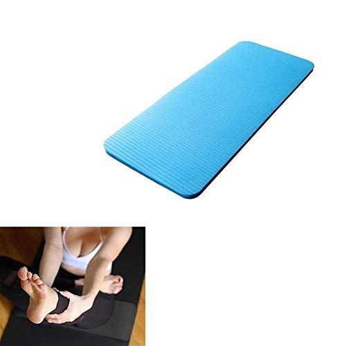 Colchoneta de ejercicio antideslizante Yoga Mat El engrosamiento de la rodilla Protección del cojín de fitness antideslizante manta de yoga gimnasia Deporte Mats pads con una correa Para casa, gimnasi