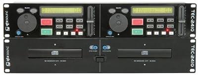 TEC-2410B dual CD player - Black