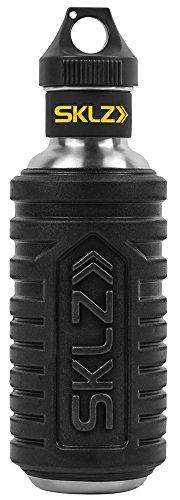 SKLZ Unisex's Hydro Roller Massage Roller & Bottle, Black