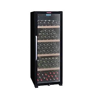 La-Sommeliere-Weinreifeschrank-CTVNE186A-von-Frio-194-Flaschen-Temperatur-zwischen-5C-und-20C-Design-Schwarz-Energie-Klasse-A