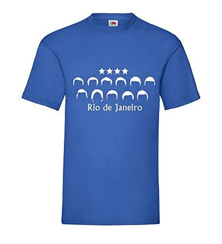 Shirt84.de - Camiseta para hombre, diseño del Campeonato Mundial de Alemania 2014...
