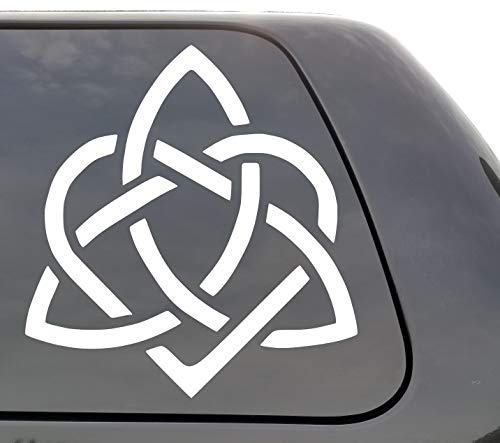 Heart Triquetra - Vinyl Decal - Celtic Heart - Wall Window Door Car Truck