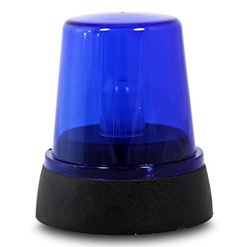 LED POLIZEI BLAULICHT Signallampe SIGNAL RUNDUMLEUCHTE WARN LEUCHTE Diskolampe