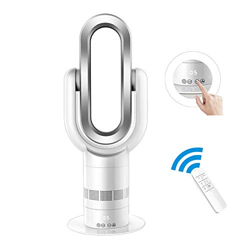 KOKIN Verwarmingsapparaat met afstandsbediening, stil met timer-slaapfunctie, ventilator en luchtreiniging