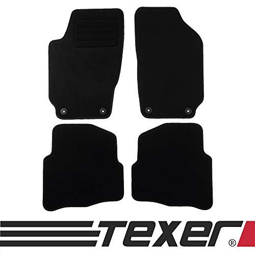 CARMAT TEXER Textil Fußmatten Passend für Seat Ibiza III 6L1 Bj. 2002-2008 Basic