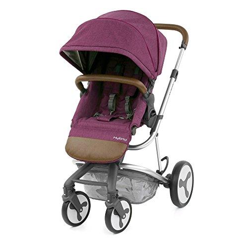 BabyStyle Hybrid Edge Stroller, Wild Orchid