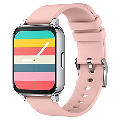 ZRY P36 Smartwatch Men's Women's Women's 1.69 Pulgadas Screen Rate Sports Smart Watch 2021 Es Adecuado para Android iOS 30 Días En Espera Multi-Idioma Adecuado para Android iOS,D