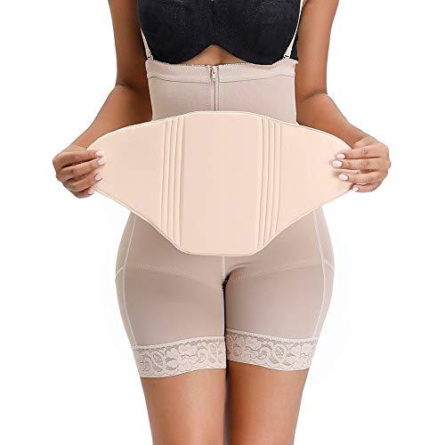 GYUGSD Ab Lipo - Tabla abdominal para postoperatorio, color beige, beige, M