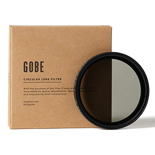Gobe NDX 67 mm Variabler Graufilter ND2-400 ND Filter (1Peak)