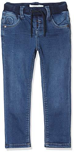 NAME IT Baby-Jungen Nmmrobin Dnmterkel 2236 SWE Pant Noos Hose, Blau (Medium Blue Denim Medium Blue Denim), (Herstellergröße:80)