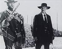 大きな写真、イーストウッドとリー・ヴァン・クリーフ