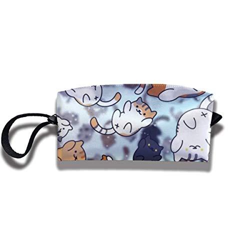 TRFashion Toiletry Bag Cute CatsStorage Bag Beauty Case Wallet Cosmetic Bags Sac de Rangement Trousse de Toilette