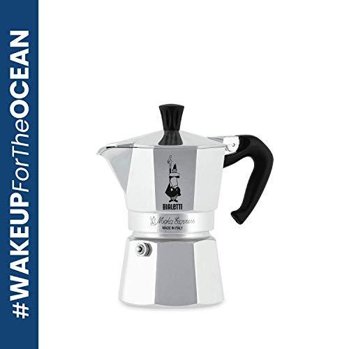 Bialetti Moka Express Aluminium Stovetop Coffee Maker (1 Cup)