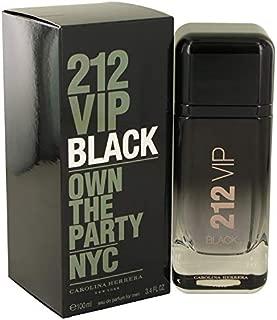 212 VIP Black by Çárólíñá Hérrérá for Men Eau De Parfum Spray 3.4 oz