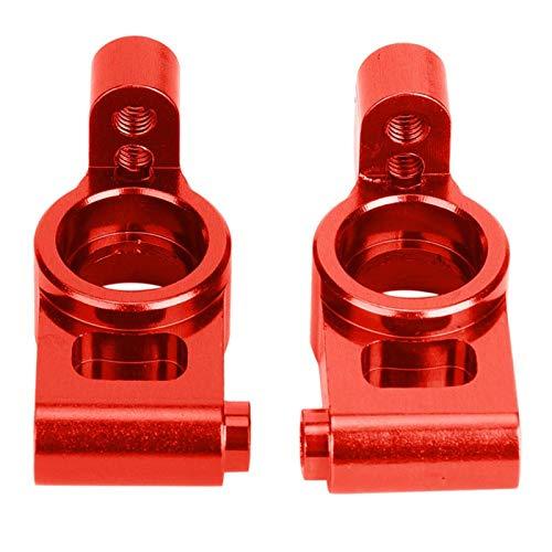 2Pcs Rc Car Accesorio Tamaño compacto Rc Buje trasero para automóvil de control remoto modificado(Red (RS4003-OR))