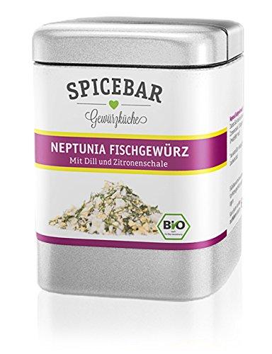 Spicebar Neptunia Fischgewürz, mit Zitronenschale und Dill, Bio (1 x 70g)