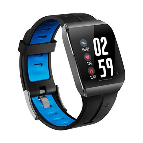 CCFCF Smartwatch, IP67 smartwatch, kleurendisplay met hartslagmonitor, slaapmonitor, stappenteller, bellen en sms-berichten