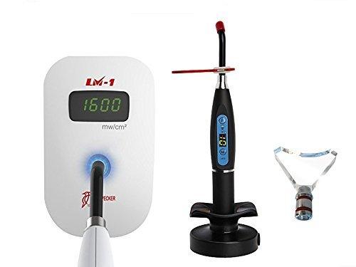 Woodpecker LM-1 Led Light Meter Light Cure Power Curing Tester+Black LED Light Lamp
