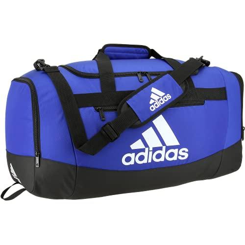 Adidas Defender 4 - Borsone medio, colore blu reale, taglia unica