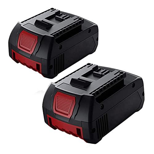 2 X Dosctt BAT618 Reemplazo para Bosch 18V Batería 5.5Ah BAT609G BAT609 BAT619 2607336169 BAT618G 2607336235 2607336170 BAT610G BAT620 BAT621 17618 Taladro Inalambrico