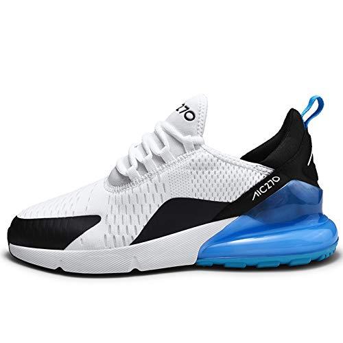 WOERJFBSK Zapatos de Rejilla Hombres De Malla Zapatos Casuales Zapatos con Cordones para Hombres Zapatillas Ligeras, Cómodas, Transpirables, para Caminar Hombres Tenis Zapatos Deportivos