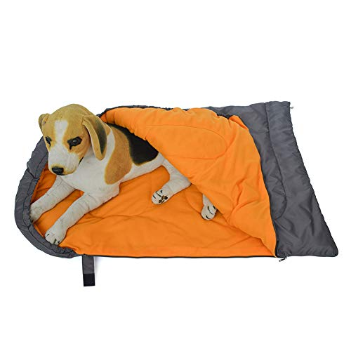 Multiple Function Portable Dog Sleeping Bag, Has Heat Insulation Water Resistance And Anti-Stain Property, Suitable for Hiking, Camping, Outdoor Traveling