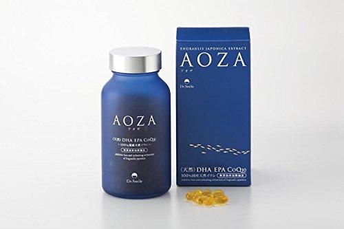『AOZA - アオザ300粒 2個セット ドクタースマイル オメガ3(DHA・EPA・コエンザイムQ10)含有サプリメント』のトップ画像