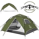 Best Instant Tents - DEERFAMY Pop Up Tents 3-4 Person, Tent Pop Review
