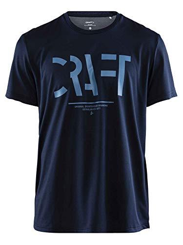 Craft Shirts Eaze T-Shirt pour Homme Bleu foncé L Bleu foncé