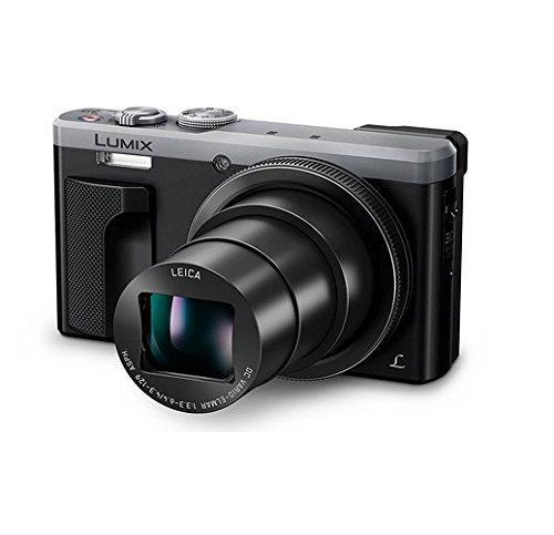 Panasonic LUMIX 4K ZS60 Point and Shoot Camera, 30X Leica DC Vario-Elmar Lens F3.3-6.4, 18 Mp, DMC-ZS60S with CASE (Renewed)