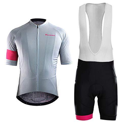 Maillots De Ciclismo Para Hombre,Colores Sólidos Avanzados Verano Manga Corta Camiseta Jersey...