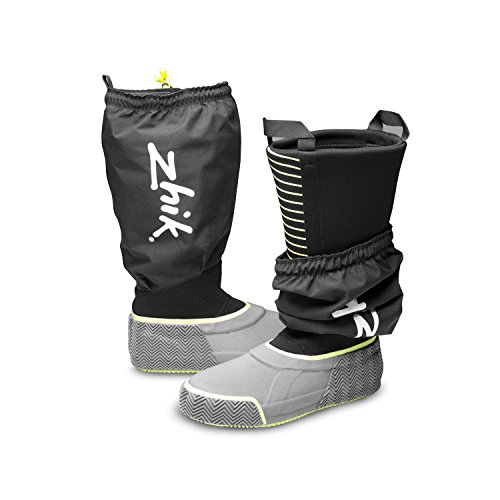 2017 Zhik ZK SeaBoot 800 Sealed Sailing Boots Black 800BK Boot/Shoe Size UK - UK Size 6.5