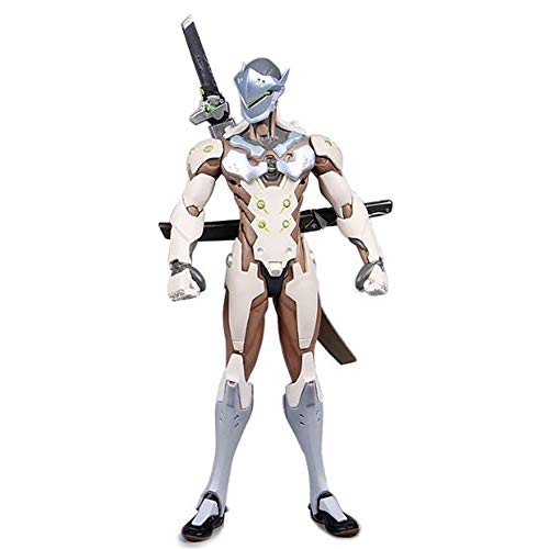 Ys-dm Shimada Genji,Standing Position, Replaceable Parts Handmade Model, Game Character Boxed Figure- 8.27 Inches (21cm)