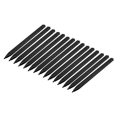 perfk 15 STK. Stylus-Stift Eingabestift für Digital Schreibtafel Papierlos Grafiktablets LCD-Schreibtafel Zubehör