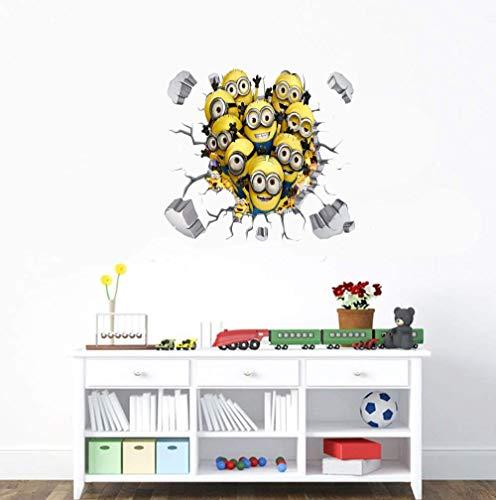 Cartoon Despicable Me - Minions - Abnehmbare Wandtattoo Aufkleber Kunst Home Decor Kinderzimmer