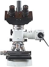 Radical 600x Trinocular Metal Industrial Metallurgy Reflected Light Microscope with Polarizer Analyzer w XY Stage & Camera Port