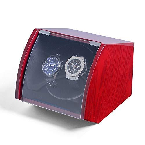 Automático Doble Cajas Giratorias para Relojes Caso Giratorio Relojes Monitor Almacenamiento Caja...