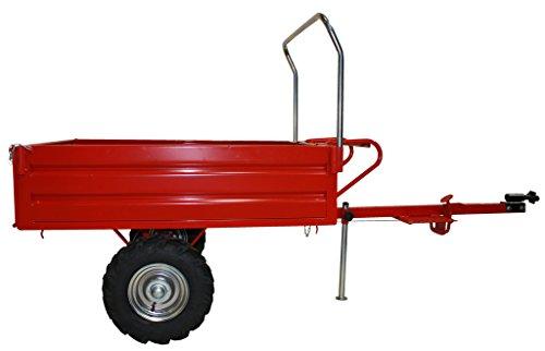 Remorque de motobineuse pour charge allant jusqu'à 400 kg