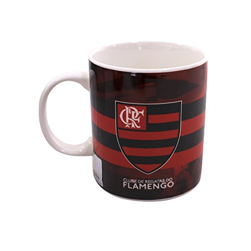 Caneca de Porcelana 320ML - Flamengo