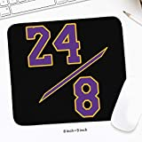 Mamba 24 Game Mouse Pad CoolBig Resistant to Dirt Office PC Mat Mouse 8'x 9' Inch