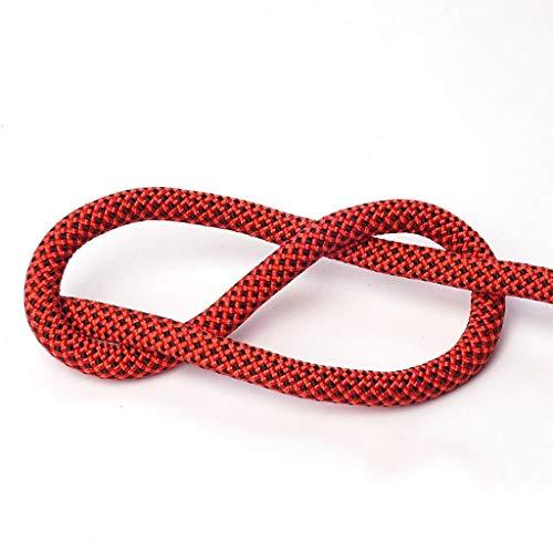 RENJUN Cuerda de Escalada Cuerda de Rappel Cuerda de Escape for Salvar Vidas Cuerda de Nylon de Spider-Man Multi-tamaño Multi-Color Opcional Cuerdas (Color : E, Size : 12MM 100M)